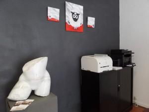"exposition collective a Albi, agence immobiliere ""le Prieuré"""