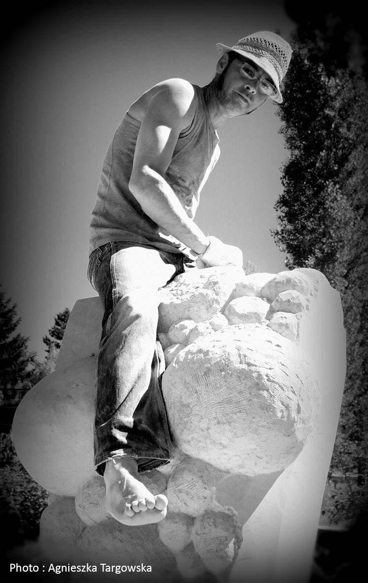 Symposium de sculpture a Guipy