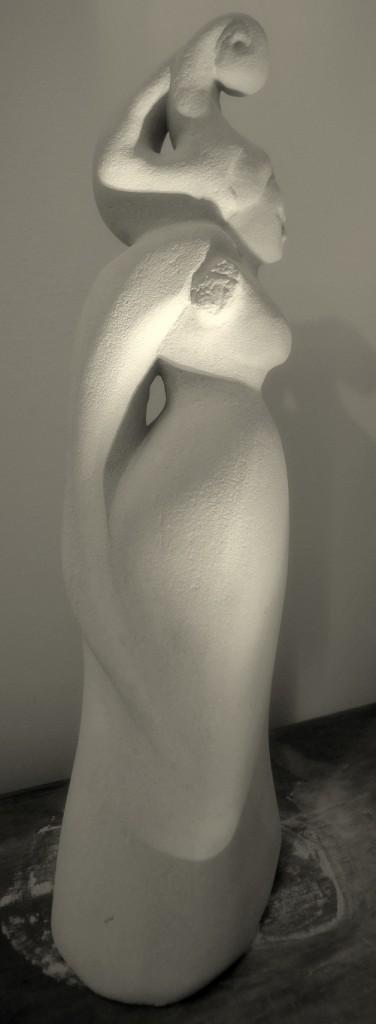 Agnieszka Targowska sculpture
