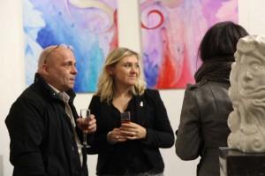 Exposition peinture et sculpture.