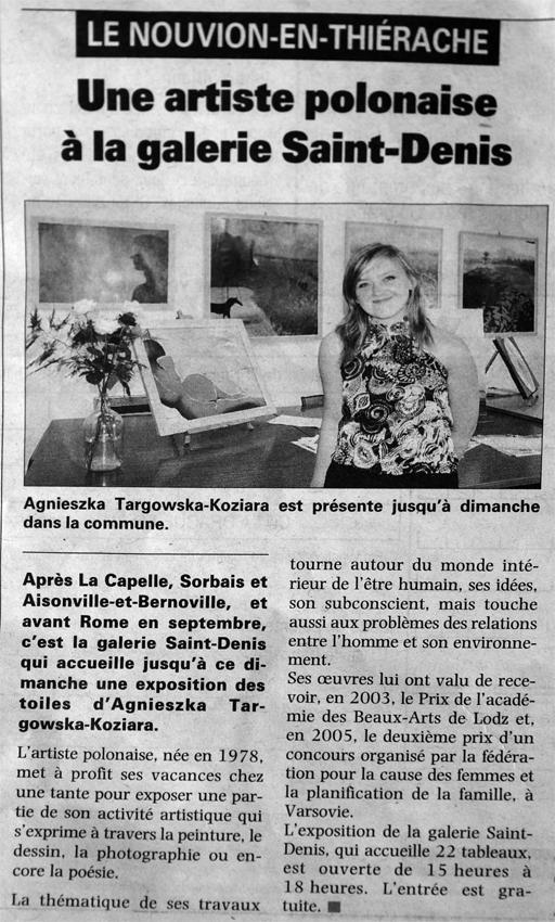 Agnieszka Targowska expositions 2009