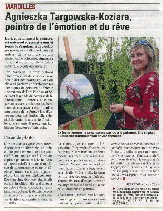 Maroilles, exposition individuelle