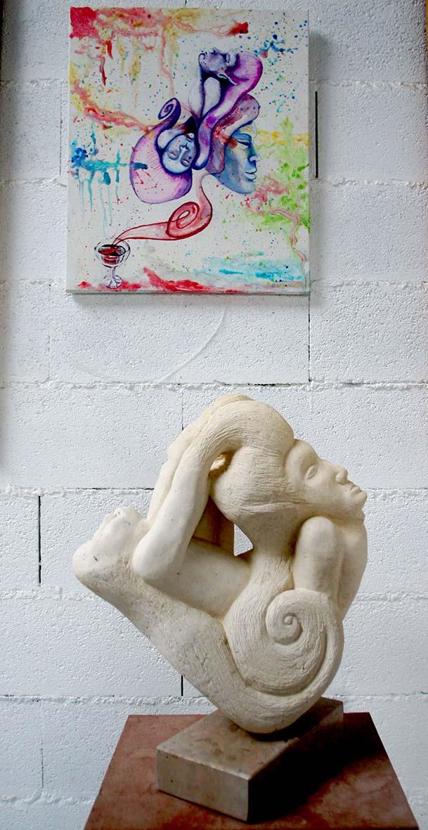 peinture et sculpture
