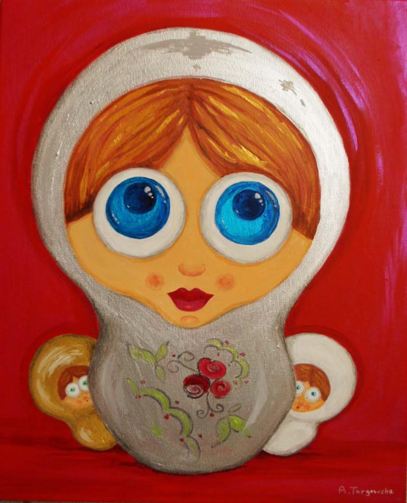 acrylique sur toile, 40x50cm