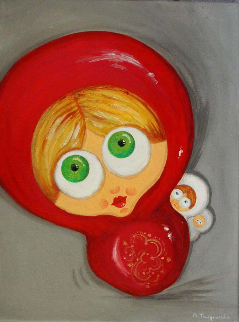 acrylique sur toile, 30x40cm
