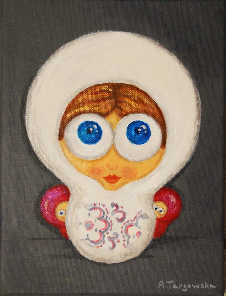 acrylique sur toile, 18x24cm