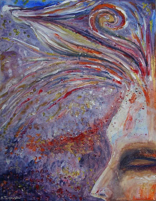 acrylique sur toile, peinture 2014